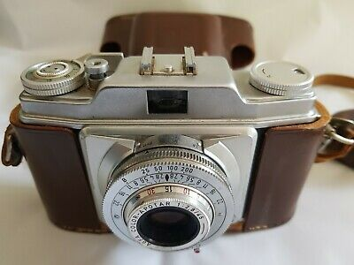 Agfa Silette 35 mm Film Camera With Case