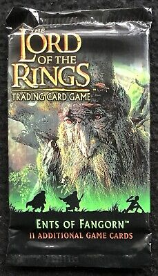 LORD OF THE RINGS - Trading Game 11 Card Pack, Ents Of Fanghorn, Sealed, 2003