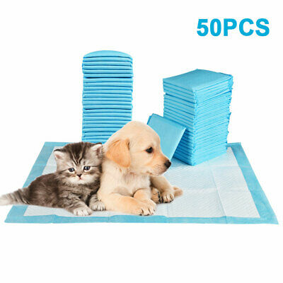 50 100 150 200 60X45Cm Large Puppy Training Pads Pet Dog Cat Toilet Pee Wee Mats