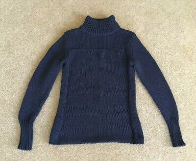 Ladies Jac and Jack Navy Blue Jumper Size XS