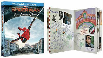 Spider-Man: Far From Home - Collector'S Edition Blu-Ray 3D + Blu-Ray (I6Z)