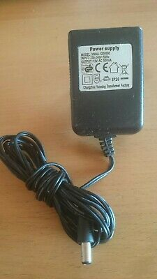 Cargador ac/dc adaptor power supply ymaa-1200500 de 12V ac 500mA (250002)