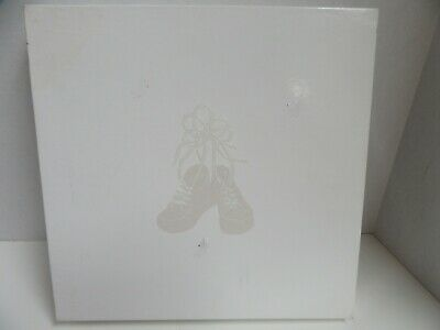Creative Memories Álbum 12x12 Blanco Relieve Bebé Booties No Páginas
