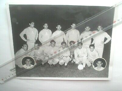 photo football EQUIPE REAL DE MADRID FINALE COUPE D'EUROPE 1956