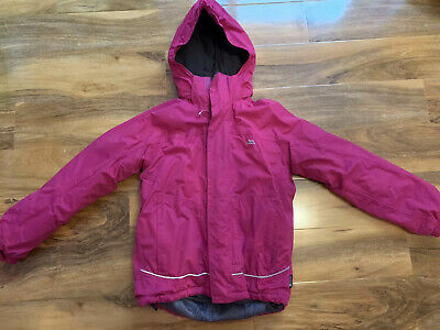 Trespass Girls 11-12 Warm Raincoat/Jacket