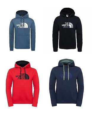 The North Face Drew Peak Pull Over Hoodie Red/Navy/Blue