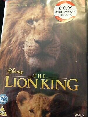 The Lion King [DVD] RELEASED 18/11/2019