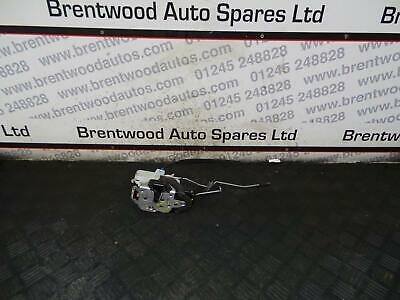 Vauxhall Astra J 2011 OSF Driver Side Front Door Lock