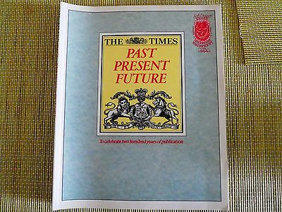 THE TIMES. PAST PRESENT FUTURE. 200 Year History Book .1985