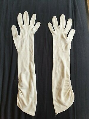 Vintage Cornelia James Dress Gloves size 6 ivory