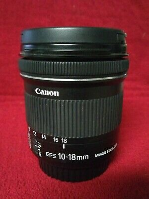 Canon EF-S 10-18mm F/4.5-5.6 IS STM Lens (9519B002) Excellent condition