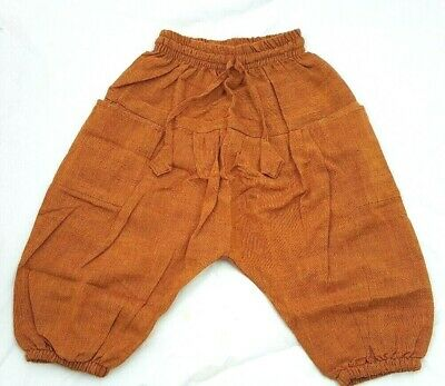 Kids Fairtrade Childrens Harem Trousers Girls/Boys Hippie Festival Clothes