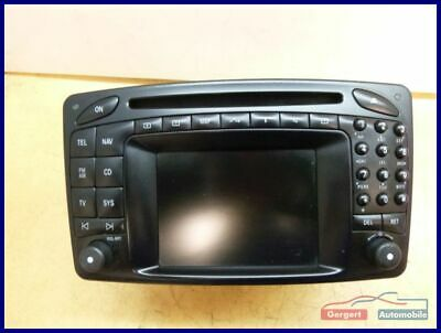 Radio Navigation Comand A2038275242 MERCEDES-BENZ CLK (C209) 270 CDI