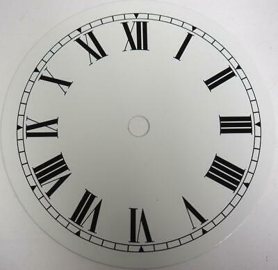 White Dial Hermle Kieninger Dial Wall Clock Or Mantel Clock Dial 12cm 5.2 Inches