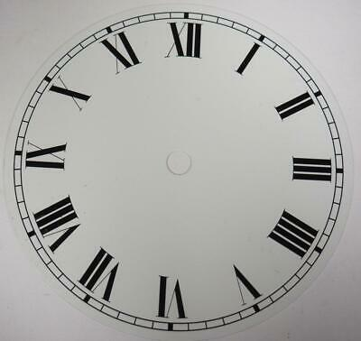 White Dial Hermle Kieninger Dial Wall Clock Or Mantel Clock Dial 14cm 5.5 Inches