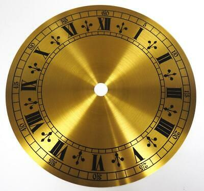 Brass Dial Hermle Kieninger Dial Wall Clock Or Mantel Clock Dial 14cm 5.5 Inches