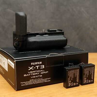 Fujifilm VG-XT3 Fuji Vertical Battery Grip for Fuji X-T3 Camera + 2 Batteries!