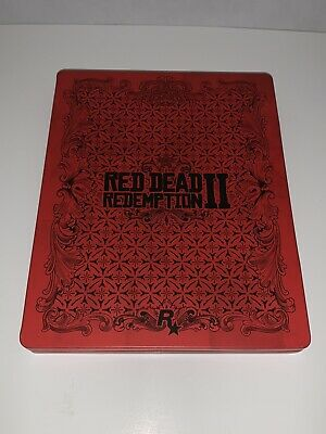 Red Dead Redemption Ii 2 Steelbook Only Ps4 Pc Xbox (No Game Disc)