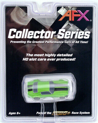 Tomy AFX Mega G+ #22003 Chevy Camaro RS 350 Green HO Scale Slot Car NIB Mega-G
