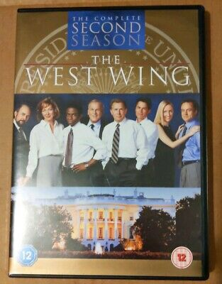 The West Wing Complete Second Season Series 2 (DVD Boxset 2009, 6-Disc) SLIMLINE