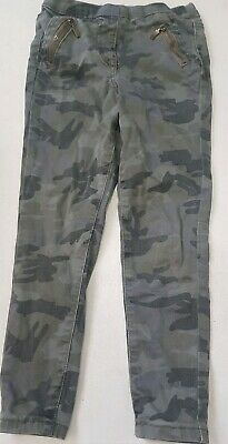 Girls winter Army Khaki Camouflage Jeans,5-6y,george,7-8y also in separate list