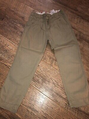 Girls Age 5/6 Years Beige Trousers