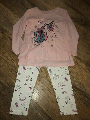 Girls New Unicorn Outfit Age 5/6 Years