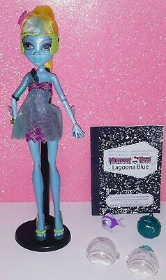 Poupée Doll Monster High Lagoona Blue 13 Souhaits Wishes Mattel 2008