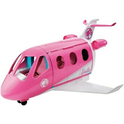 NEW Barbie Travel Dreamplane Girls Set TOY PINK PLAYSET