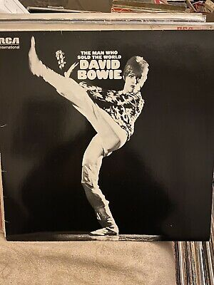 David Bowie, The Man Who Sold The World, Vinyl Lp Ex Condition Vinyl
