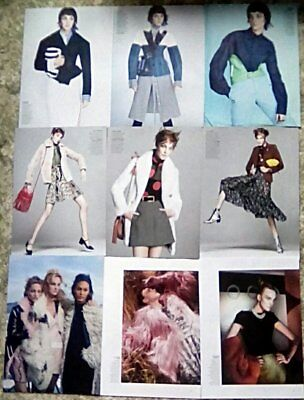 * Supermodel Caroline Trentini Clippings Pack 22 Full Page Vogue Photoshoots + *