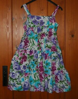 Zara, Girls, Party, Floral, Cotton, Dress, 11-12 years (152)