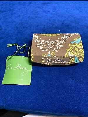 Vera Bradley (RET)Kiss Me Twice SITTIN IN A TREE Lip Stick Case w Mirror Magnet