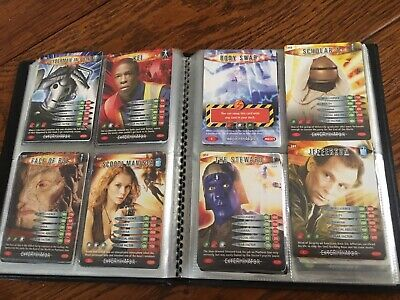Dr Who game cards collectable card trading card games Mega Job Lot