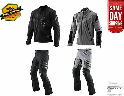 Leatt Gear Combo Jacket GPX 4.5 Lite and Pant GPX 5.5 Enduro Offroad DirtBike MX