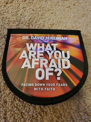 What Are You Afraid Of 10 CD Sermon Series Dr. David Jeremiah Turning Point