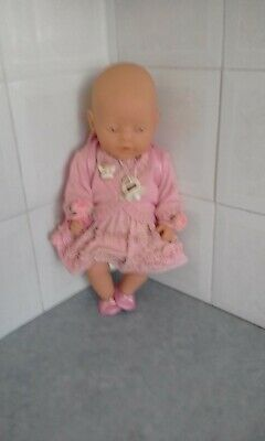 baby born dolls orig outfit blue eyes doll included