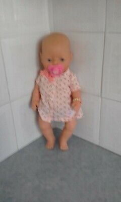 baby born dolls orig outfit blue eyes eyelashes as well doll included