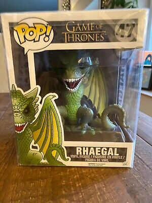 Funko Pop! Rhaegal Game of Thrones #47 (6 Inch) Dragon With Protector!
