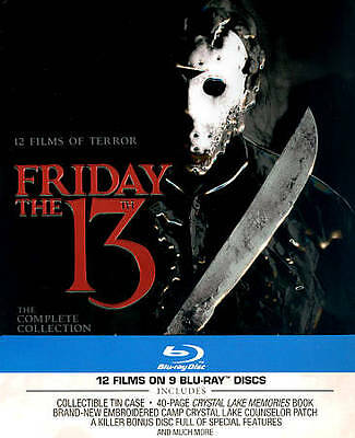 Friday the 13th: The Complete Collection (Blu-ray Disc, 2013, 10-Disc Set)