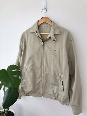 Vintage Flying Scotsman Khaki Jacket Mens Size M