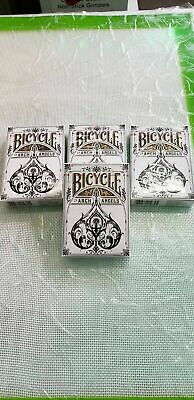 4 Decks Official BICYCLE Arch Angels Limited Edition Playing Cards -Brand New
