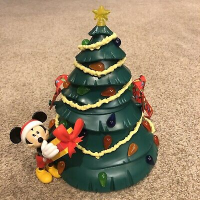 Disney Parks Mickey Light Up Christmas Tree Popcorn Bucket 2019 New FREE Ship