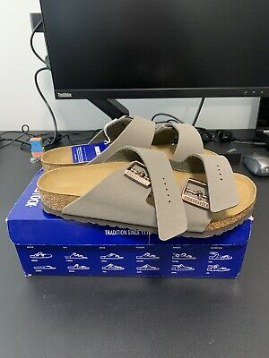 BIRKENSTOCK Arizona Sandal | Sz 41 | Regular Fit | Stone | Unisex