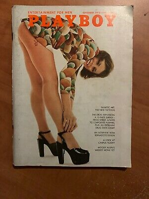 US Playboy Magazine September 1972