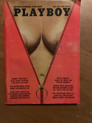 US Playboy Magazine July 1973