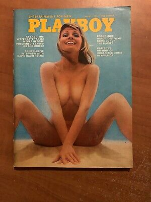 US Playboy Magazine August 1973