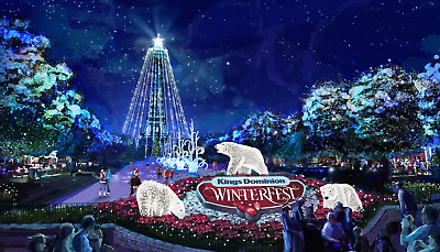 **$25 Each** Kings Dominion Winterfest Tickets Promo Discount Tool