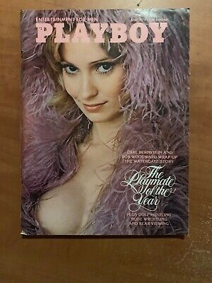 US Playboy Magazine June 1974