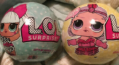 LOT OF 2x L.O.L. Surprise! Series 1 + 3 Big Sister LOL Dolls Limited MGA Release